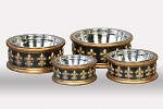 Unleashed Life Chartres Dog Bowls