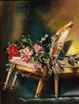 Chair Tilt - The Original Oil Painting
