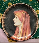 NOT FOR SALE - Saint Fabiola Plate by Romeo Cuomo