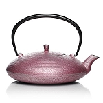 Sekitei Japanese Cast-Iron Teapot in 4 Colors Plus Tea