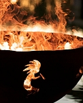 Fire Pit Art ® Kokopelli