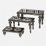 Unleashed Life Soho Antique Brass Dog Dining Tables