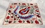 567 Hayko - Suzani Decorative Armenian Embroidery and Silk Fabric Throw Pillow Cases - Hayko Fine Rugs & Tapestries