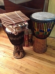 Fair Trade  African Handmade Musical Instruments - Cash & Pick Up