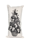 Christmas Pillow Set of 3 Vertical Long Pillows