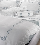 516 PANAMA Bedding Sets by RICAMI VERA SAS Vera Italian Linens 3 Sizes Queen, King, California King  560TC