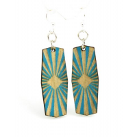 533 Green Tree Jewelry - Life Sun Star Burst Sets of Earrings and Bracelet