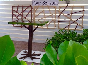 Passion for Wood - Four (4) Seasons Elbow Leg Table EL