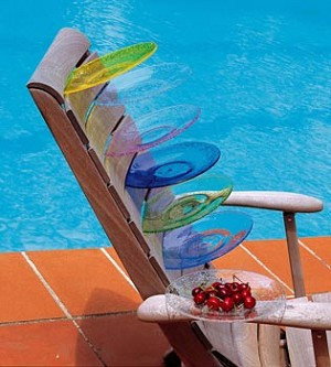 Biot Bubbled Acrylic Swimming Pool Collection - The Full Set for 4