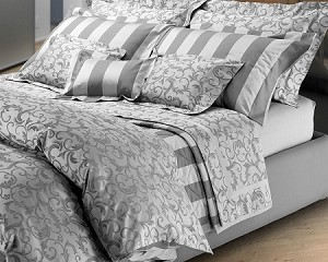 513 CORDOBA Bedding Sets by RICAMI VERA SAS Vera Italian Linens 3 Sizes Queen, King, California King  300TC