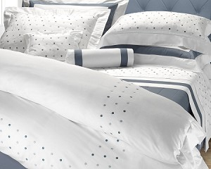 514 SAN REMO Bedding Sets by RICAMI VERA SAS Vera Italian Linens 4 Sizes Twin, Queen, King, California King