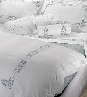 526 PANAMA Bedding Sets by RICAMI VERA SAS Vera Italian Linens 3 Sizes Queen, King, California King  560TC